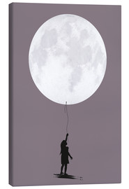 Canvas print  Moonballoon - Amy and Kurt