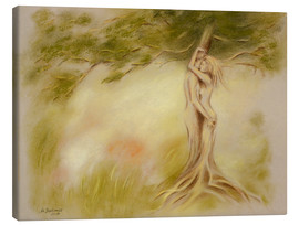 Canvas  Mystic tree - Symbolism - Marita Zacharias