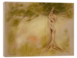 Wood  Mystic tree - Symbolism - Marita Zacharias