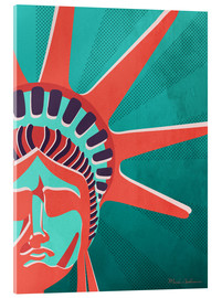 Acrylic print  new york - Mark Ashkenazi