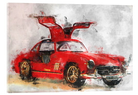 Acrylic glass  Mercedes - LoRo-Art