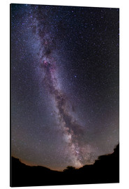Aluminium print  The summer Milky Way in southern Alberta, Canada. - Alan Dyer
