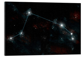 Acrylic print  Artist's depiction of the constellation Aries the Ram. - Marc Ward