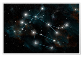Premium poster Artist's depiction of the constellation Gemini the Twins.