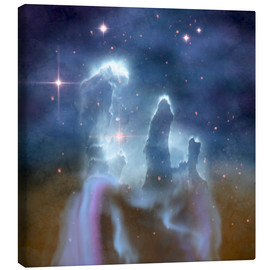 Canvas print  Pillars of Creation in the Eagle Nebula. - Corey Ford