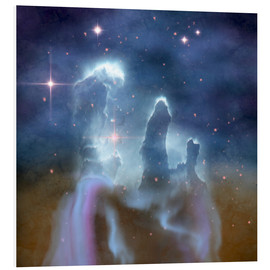 Foam board print  Pillars of Creation in the Eagle Nebula. - Corey Ford