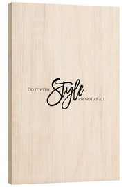 Wood  Do it with style - Stephanie Wünsche