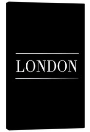 Canvas print  LONDON | HORIZONTAL - Stephanie Wünsche