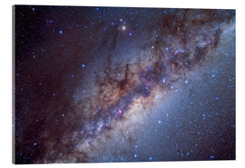 Acrylic print  The center of the Milky Way through Sagittarius and Scorpius. - Alan Dyer