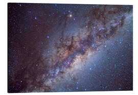Aluminium print  The center of the Milky Way through Sagittarius and Scorpius. - Alan Dyer