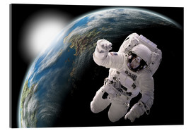 Acrylic print  Astronaut in space - Marc Ward