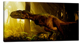Canvas print  An Abelisaurus moves stealthily though the forest. - Philip Brownlow