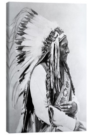 Canvas print  Sioux Chief - Sitting Bull - John Parrot