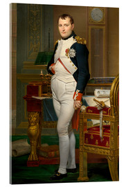 Acrylic glass  Vintage painting of The Emperor Napoleon in his study. - John Parrot