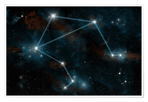 Premium poster Artist's depiction of the constellation Libra the Scales.
