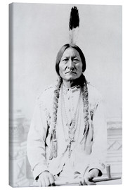 Canvas  Chief Sitting Bull