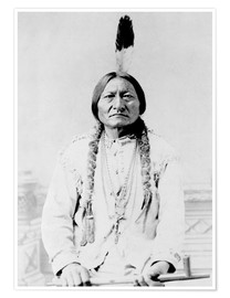 Premium poster Sioux Chief, Sitting Bull