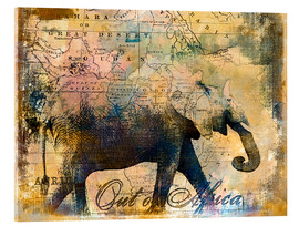 Acrylic glass  Out of Africa - Andrea Haase