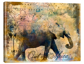 Canvas  Out of Africa - Andrea Haase