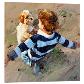 Acrylic print  Best Friends - Claire McCall