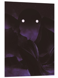 Foam board print  Staring Contest With The Mountain God - Adam Priester