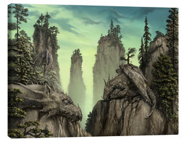 Canvas print  Stone Dragons - Susann H.