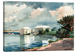 Canvas print  Salt Kettle, Bermuda - Winslow Homer