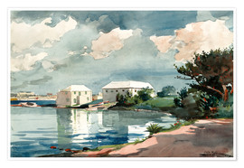 Winslow Homer - Salt Kettle, Bermuda