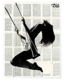 Premium poster  the lightness of being again2 - Loui Jover