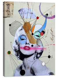 Canvas print  marylin for the abstract thinker - Loui Jover