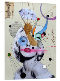 Foam board print  marylin for the abstract thinker - Loui Jover