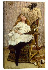 Canvas  A Rival Attraction - Charles Burton Barber