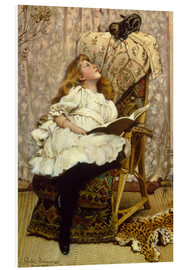 Foam board print  A Rival Attraction - Charles Burton Barber