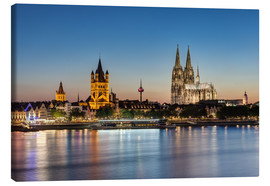 Canvas print  Magnificent Cologne - Michael Valjak