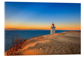 Acrylic print  Lighthouse in the dunes - Reemt Peters-Hein