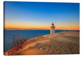 Canvas print  Lighthouse in the dunes - Reemt Peters-Hein