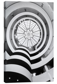 Canvas print  Guggenheim Museum, New York - Matteo Colombo