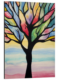 Alu-Dibond  Colorful tree - siegfried2838