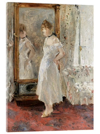 Acrylic glass  The mirror - Berthe Morisot