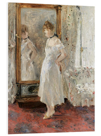 Foam board print  The Mirror - Berthe Morisot