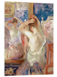 Forex  In front of the mirror - Berthe Morisot