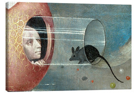 Canvas print  Garden of Earthly Delights, mankind before the Flood (detail) - Hieronymus Bosch