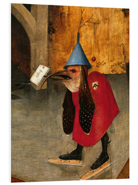 Foam board print  Saint Anthony is accused of devils (Detail) - Hieronymus Bosch