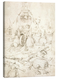 Canvas print  Hell scene of the Last Judgment - Hieronymus Bosch