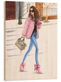 Wood  Pink fashionistas - Rongrong DeVoe
