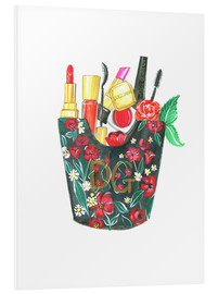 Foam board print  Make Up Bag - Rongrong DeVoe