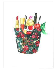 Premium poster Make Up Bag