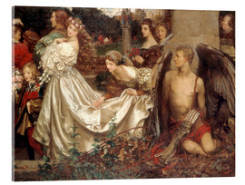 Acrylic print  The Uninvited Guest - Eleanor Fortescue-Brickdale