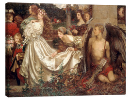 Canvas print  The Uninvited Guest - Eleanor Fortescue-Brickdale