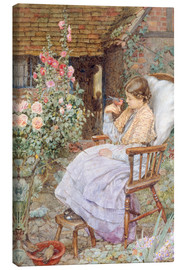 Canvas print  For What are the Voices of Birds… - Eleanor Fortescue-Brickdale